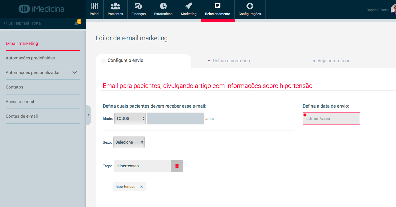email marketing médico