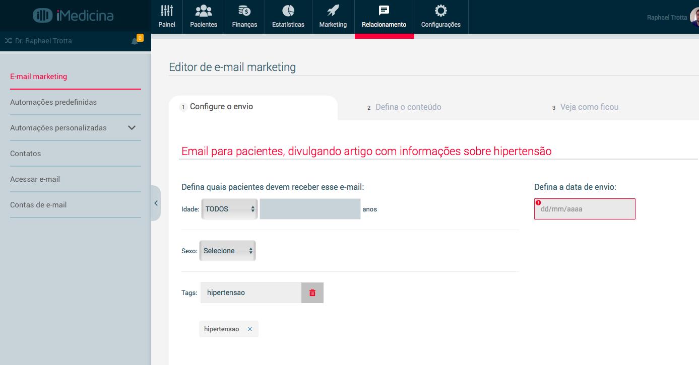 email marketing médico