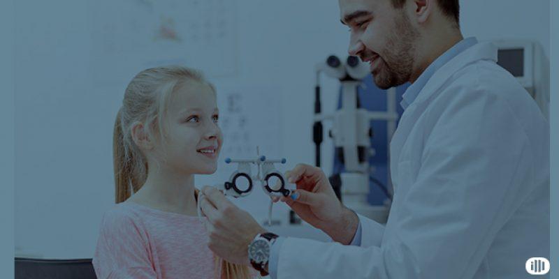 clínica de olhos